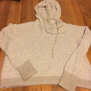 Victoria's Secret cozy hooded sweater large